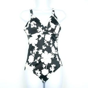 Lands End Womens One Piece Swimsuit Size 8B